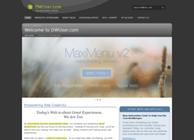 dwuser com info dwuser com dreamweaver extensions slideshow and