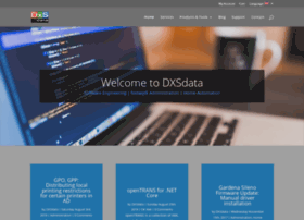 dxsdata.com