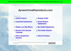 dynamichealthproducts.com