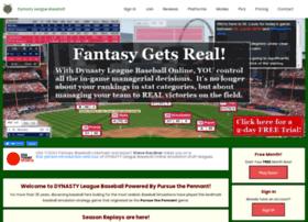 dynastyleaguebaseball.com