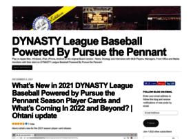 dynastyleaguebaseball.mlblogs.com