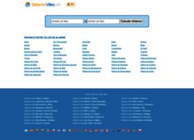dz.distancevilles.net