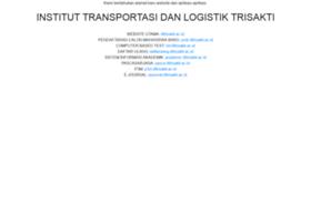 e-academic.stmt-trisakti.ac.id