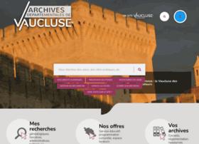 e-archives.vaucluse.fr