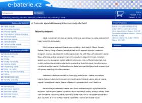 e-baterie.cz
