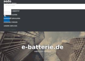e-batterie.de