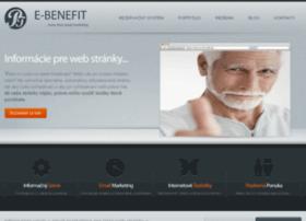e-benefit.sk
