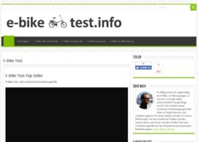e-bike-test.info
