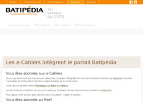 e-cahiers.cstb.fr
