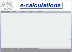 e-calculations.com