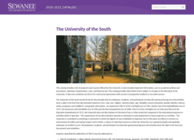 e-catalog.sewanee.edu