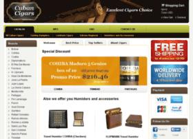 e-cuban-cigars.com