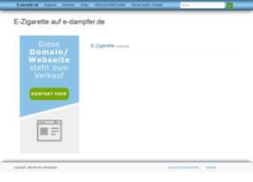 e-dampfer.de