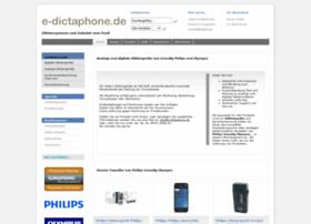 e-dictaphone.de