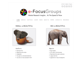 e-focusgroups.com