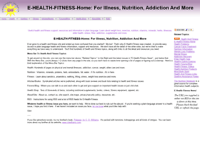 e-health-fitness.com
