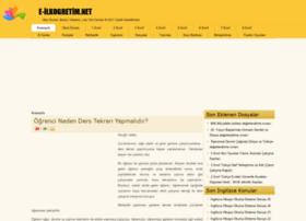 e-ilkogretim.net