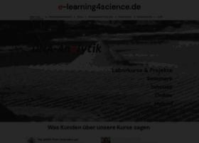 e-learning4science.de