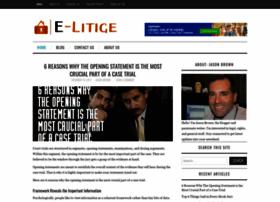 e-litige.com