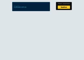 e-phrase.com.au