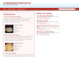 e-recetasdecomida.com.ar