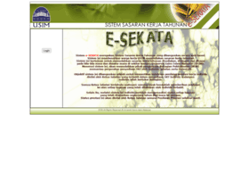 e-sekata.usim.edu.my
