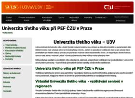 e-senior.czu.cz