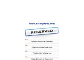 e-shop4you.com