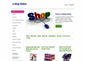 e-shoponline.weebly.com