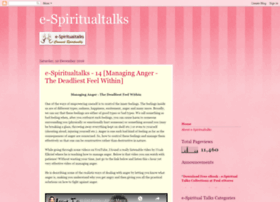 e-spiritualtalks.blogspot.in