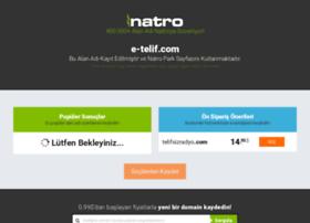 e-telif.com