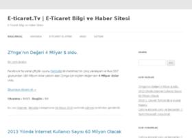 e-ticaret.tv