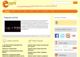 turo.org info. E-Turo | The Philippines' E-Learning Portal