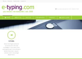 e-typing.com