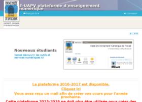 e-uapv2015.univ-avignon.fr