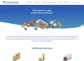 e-warehousing.co.uk