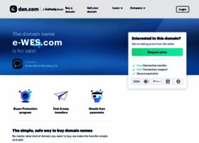 e-wes.com
