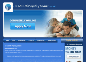 e12monthpaydayloans2.co.uk