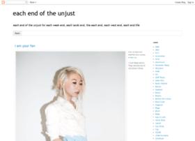 each-end-of-the-unjust.blogspot.com