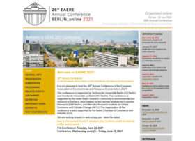 eaere-conferences.org