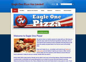 eagleonepizza.com
