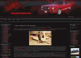 early-mustang.com