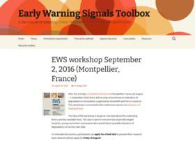early-warning-signals.org