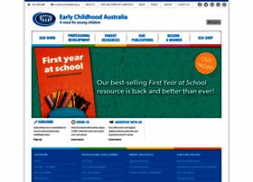 earlychildhoodaustralia.org.au