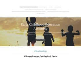 earlychildhoodeducationassembly.com