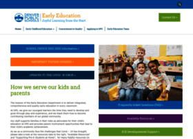 earlyeducation.dpsk12.org