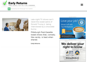 earlyreturns.post-gazette.com