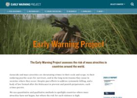 earlywarningproject.com