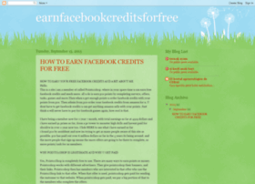 earnfacebookcreditsforfree.blogspot.co.uk