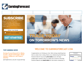 earningforecast.com